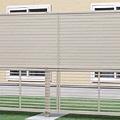 エクステリア フェンス 2段支柱T150シルバー