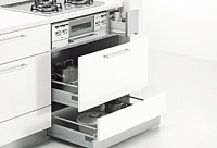 システムキッチン Berry コンロスペース
