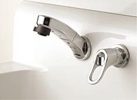 洗面化粧台EPOCH 壁出し水栓
