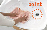 洗面化粧台Jolie ボウル形状