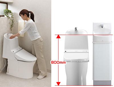 TOTO Washlet GG-800 手洗いしやすいカタチ
