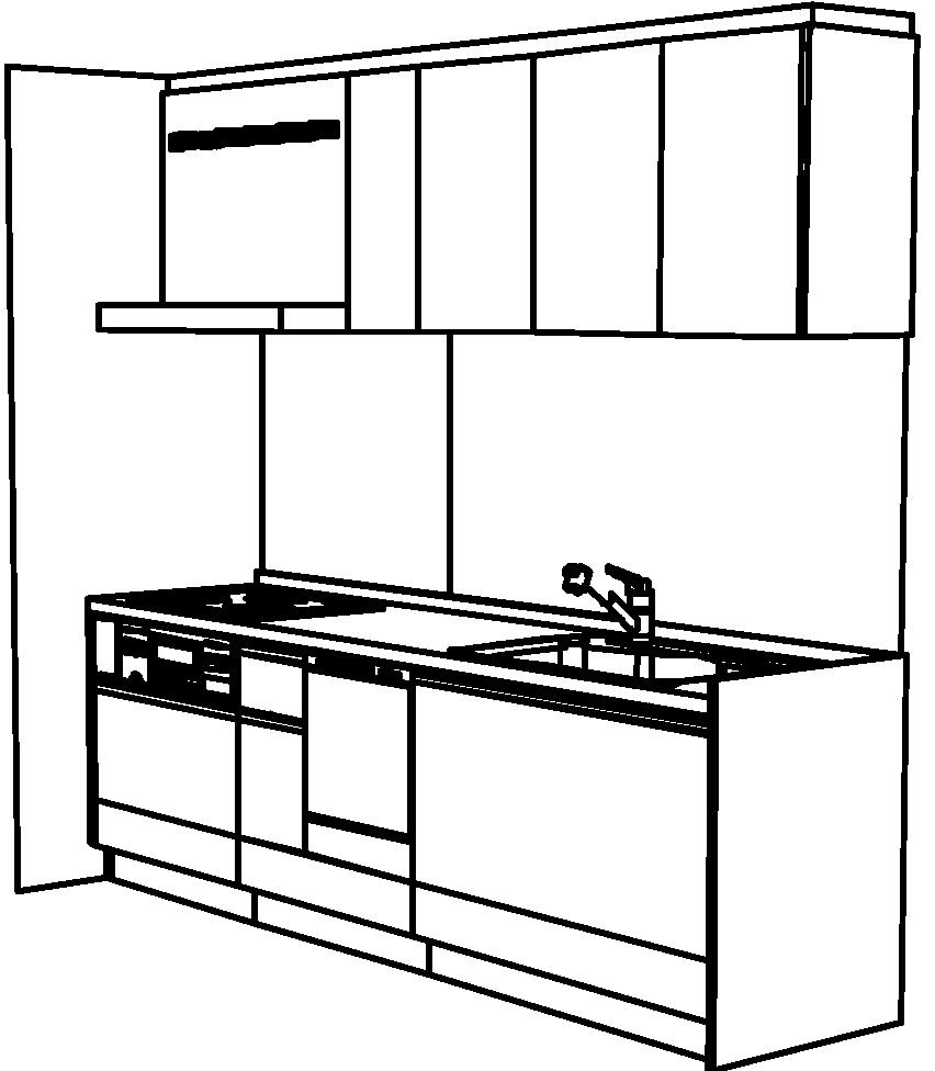 キッチン Berry レイアウト図