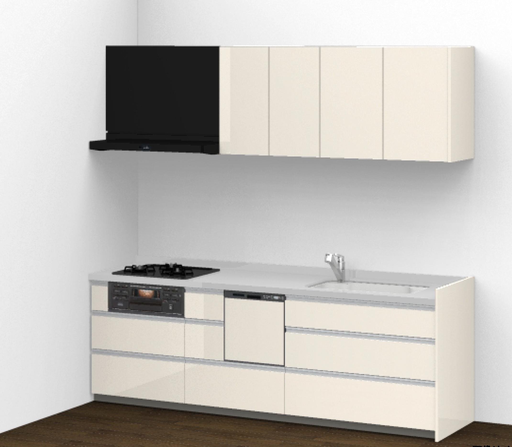 TOTO システムキッチン クラッソ(3段引き出し)
