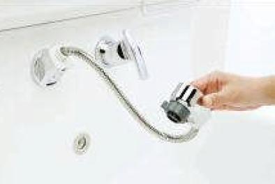 壁出しシャワー水栓②