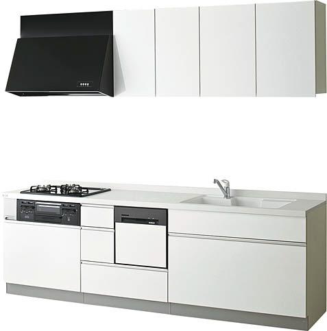 NORITZ システムキッチン ベステ フットスペースプラン