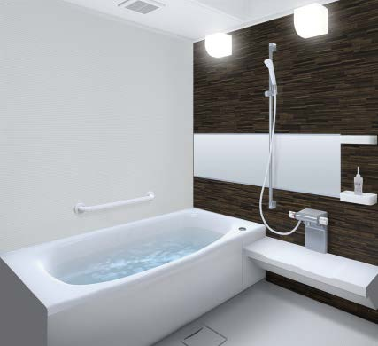 システムバスルーム サザナ HD Nタイプ ワイドミラー